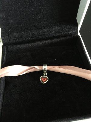 Pandora Pendant silver-colored-red