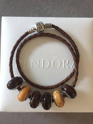 Pandora Colgante marrón madera