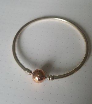 Pandora Bangle srebrny-w kolorze różowego złota