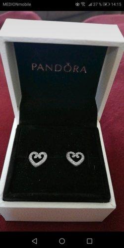 Pandora Silver Earrings silver-colored