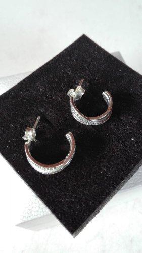 Pandora Ohrringe verflochten