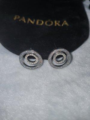 Pandora Srebrne kolczyki srebrny