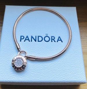 Pandora Padlock rosé Gr 19