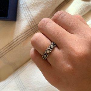 Pandora Silver Ring light grey
