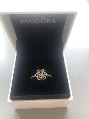 Pandora Anillo de plata color plata