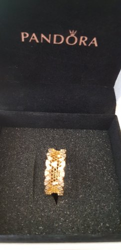 Pandora Anillo de oro color oro