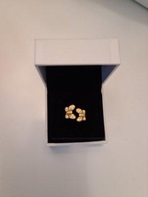 Pandora Srebrny pierścionek złoto