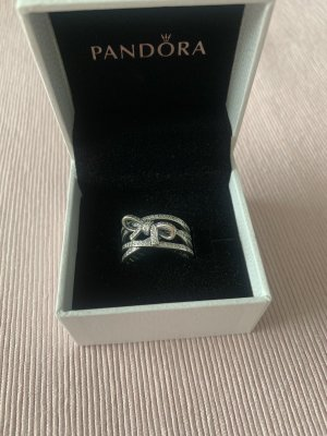 Pandora Silver Ring silver-colored