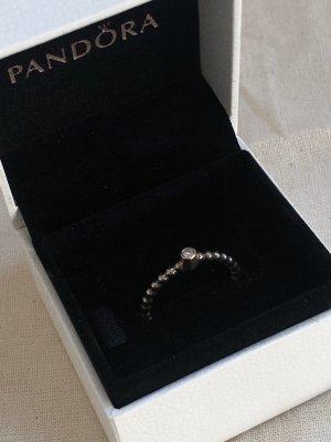 Pandora Zilveren ring zilver-goud