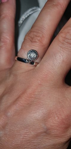 Pandora Ring aus 925 Sterling Silber