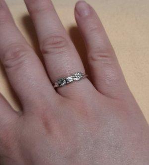 Pandora Silver Ring white-silver-colored