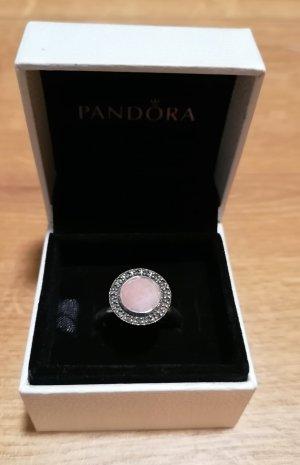 Pandora Anillo de plata rosa empolvado