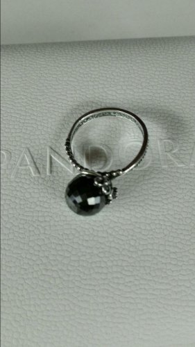 Pandora Anello d'argento argento-nero
