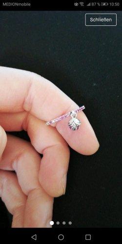 Pandora Anello d'argento argento-rosa