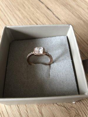 Pandora Ring, Roségold, Größe 50