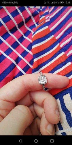 Pandora Ring Silber, strahlende Eleganz