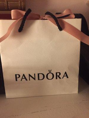 Pandora Zilveren ring zilver-donkergroen
