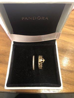Pandora Anello d'argento rosa pallido