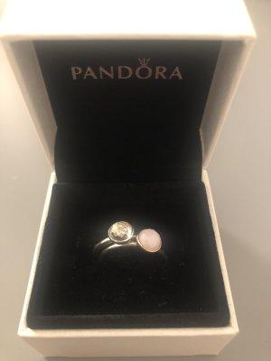 Pandora Anello d'argento argento-rosa chiaro