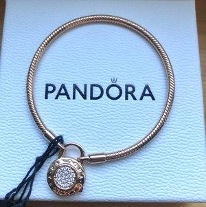 Pandora rosé Padlock neu Gr 18