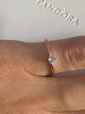 Pandora Silver Ring multicolored metal