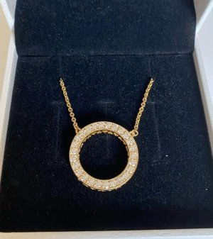 Pandora Necklace gold-colored