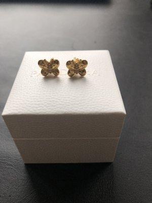 Pandora Pendientes de oro color oro