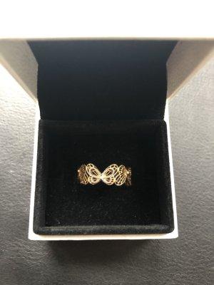 Pandora Anillo de oro color oro-color plata