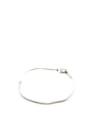 Pandora Bracelet en argent argenté style décontracté