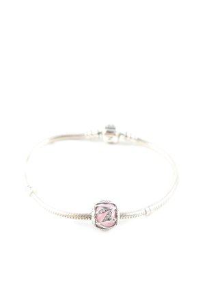 Pandora Bracelet en argent argenté-rose élégant