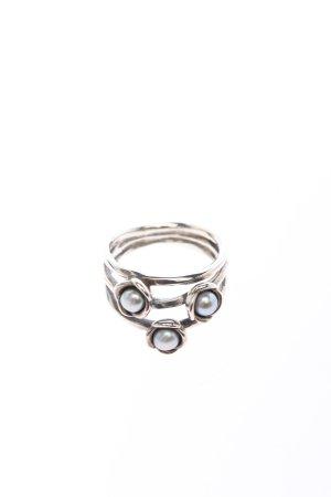 Pandora Silberring silberfarben Elegant