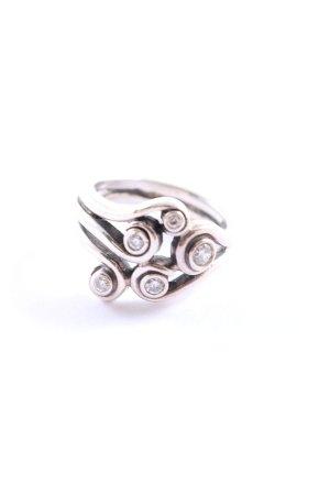 Pandora Silberring silberfarben Casual-Look