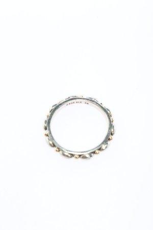 Pandora Srebrny pierścionek srebrny-złoto W stylu casual