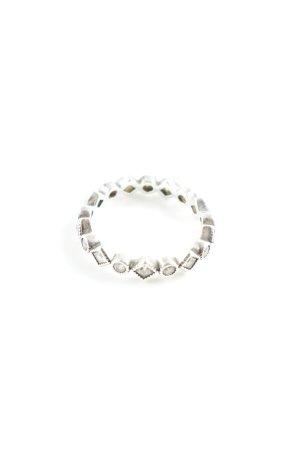Pandora Zilveren ring zilver abstract patroon casual uitstraling