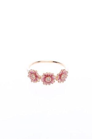 Pandora Statement ring goud-roze casual uitstraling