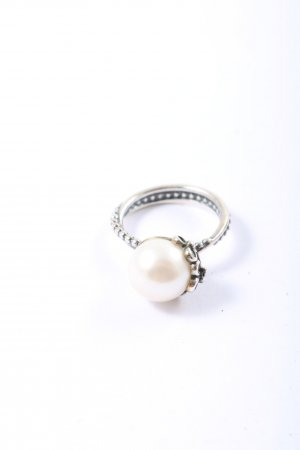 Pandora Statement Ring silver-colored-white casual look