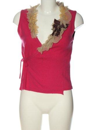 Fine Knitted Cardigan multicolored elegant
