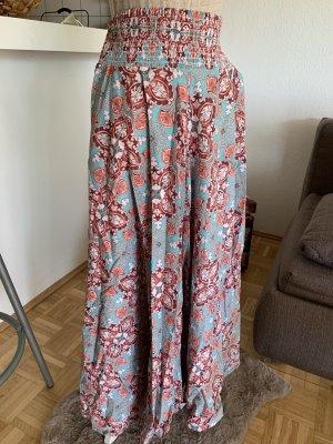PantalonE! Cotton FlairHose - HaremsPant - OneSize - Türkis/Bordeaux