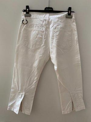 Ring Milano Spodnie Capri biały