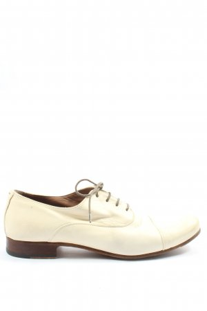 Pantanetti Chaussure Oxford crème style d'affaires