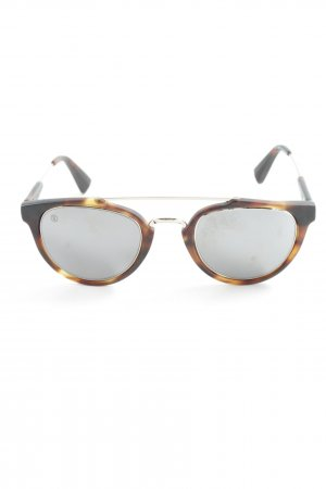 Panto Glasses brown-dark brown casual look