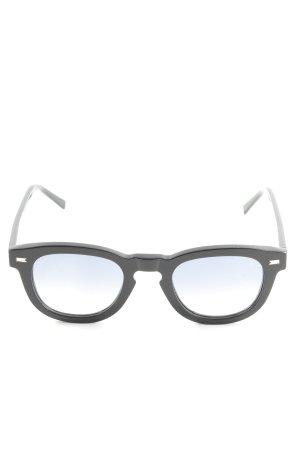 bob sdrunk Panto bril zwart casual uitstraling