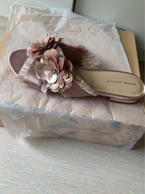 Andrea Puccini Sabot w kolorze różowego złota-różany
