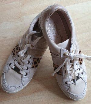 Pantofolo d'oro Damen Sneaker Beige Creme Gr 40