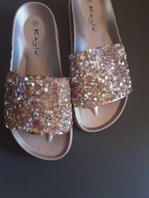 Kayla Outdoor Sandals rose-gold-coloured