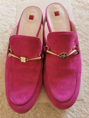Högl Heel Pantolettes pink leather