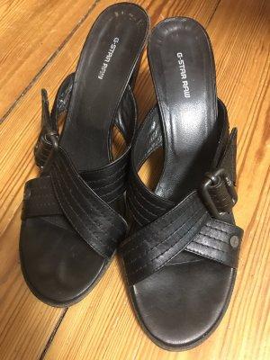 Gstar Sandalo con tacco nero