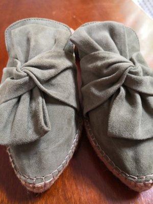 Helen Billkrantz Sabot gris vert-kaki