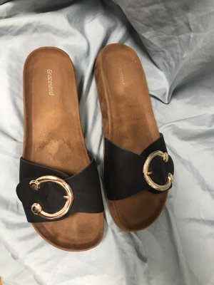 Graceland Sabot noir-brun