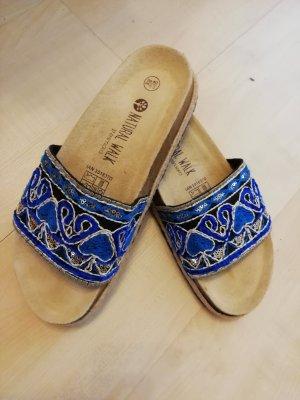 Esmara Sandalo comodo argento-blu acciaio